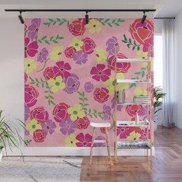 Bonny blooms Wall Mural