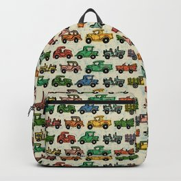 Cars and Trucks Backpack