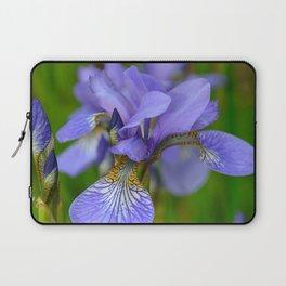 Siberian Iris by Teresa Thompson Laptop Sleeve