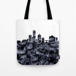 Milwaukee Skyline Wisconsin Tote Bag