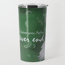 To Whatever End (Green) Travel Mug