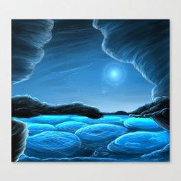 Cloudscape of Neptune Canvas Print