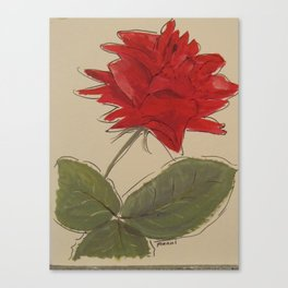 +My lovely Rose Canvas Print