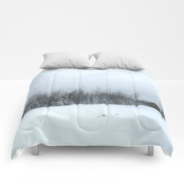 Escape in the Snow Comforters