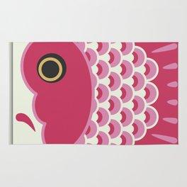 Koinobori | Pink Rug