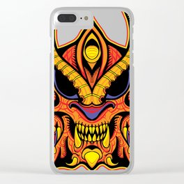 God of Morbidity Clear iPhone Case