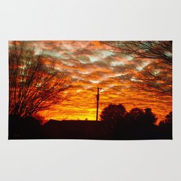 Pretty Florida Fiery Sunset Rug