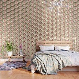 Rococo Floral Pattern #5 Wallpaper