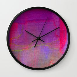 Neon District 2 Wall Clock