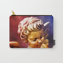 little gold angel Carry-All Pouch