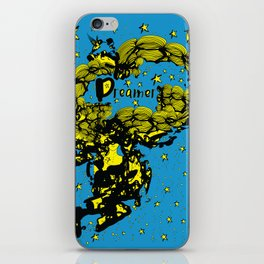 Dreamer girl iPhone Skin