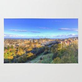 Edinburgh City Panorama Rug