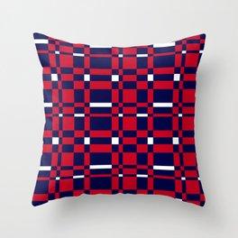Union Jack Colours Throw Pillow