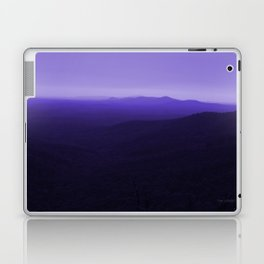 Violet Scenic View of Blue Ridge Mountains Georgia  Laptop & iPad Skin