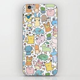 Kawaii Pokémon iPhone Skin