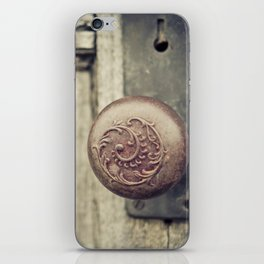 Old Knob iPhone Skin