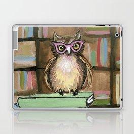 Owl the Librarian Laptop & iPad Skin
