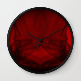 Red and Black Complexes 1 Wall Clock