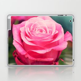 Elegant pink rose Laptop & iPad Skin