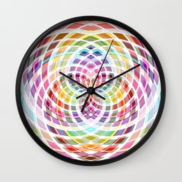 Color Worlds Wall Clock