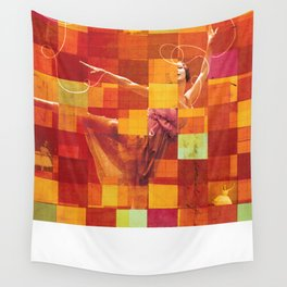 Social Life #19:  The Dancer 5 Wall Tapestry