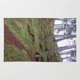Trees Pentland Hills Scotland Rug