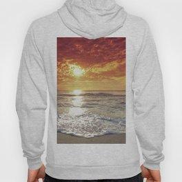 Sunset on the beach Hoody