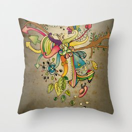 Another Strange World Throw Pillow