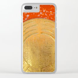 Land of the rising sun Clear iPhone Case