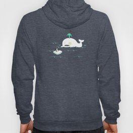 A Whale Of A Gentleman Hoody