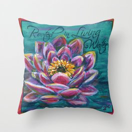 Rooted Throw Pillow