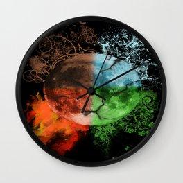 Elements - seasons  Wall Clock