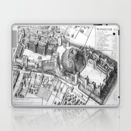 Windsor Castle grey Laptop & iPad Skin