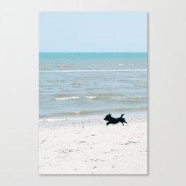 Running Free - Vertical Canvas Print