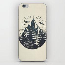Craving wanderlust III iPhone Skin