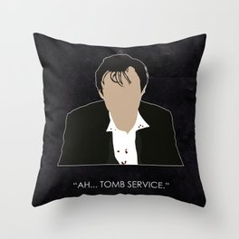 Being Human - John Mitchell (1930s edition) Throw Pillow