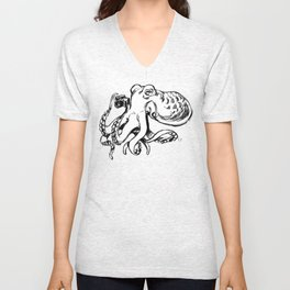 Octographer Unisex V-Neck