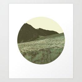 Vittorio Winter Yellow Art Print