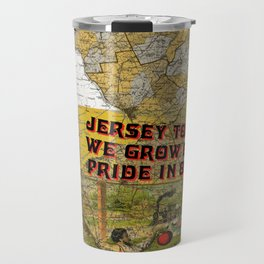 Jersey Tomatoes, We Grow our Pride Travel Mug