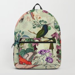 Floral and Birds VIII Backpack