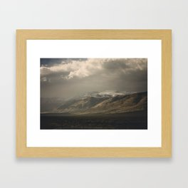 Out the Car Window Framed Art Print