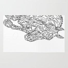 Doodle horse - showjumper Rug