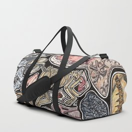 Fossils for history, dinosaur and archaeology lovers Duffle Bag