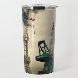 Harbor Crane Travel Mug