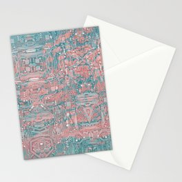 Circuitry Details 2 Stationery Cards