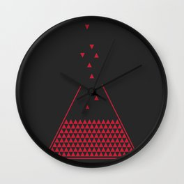 Refill the triangle Wall Clock