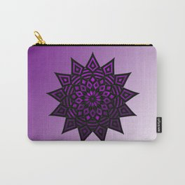 Purple Star | Tam Tam | Mandhala Carry-All Pouch