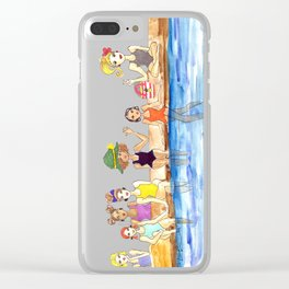 Girl Gang Clear iPhone Case