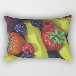 Fruit Bunch Rectangular Pillow