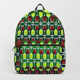 Wine Glasses Of Red And White Backpack